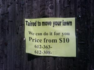 move your lawn